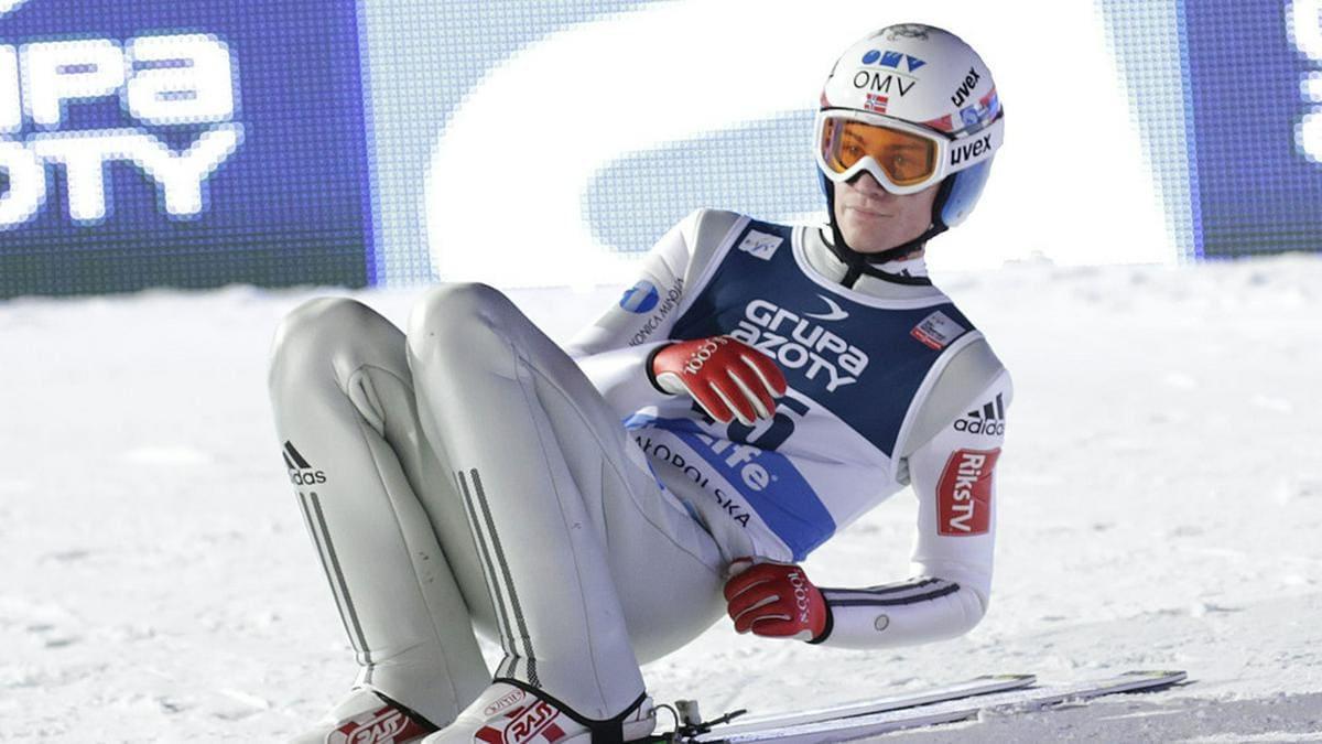 Daniel-André Tande muss im Krankenhaus behandelt werden.. © Marcin Kadziolka/Shutterstock.com