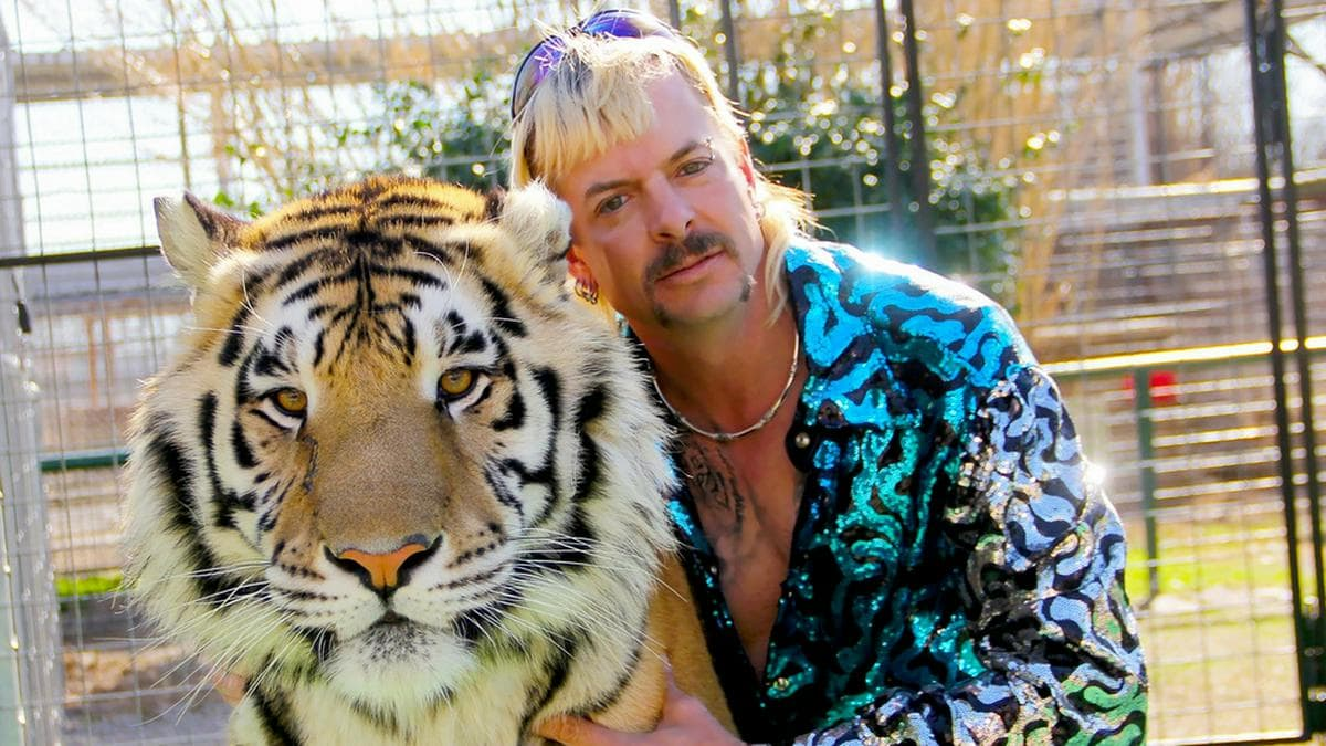 "Seit 2019 in Haft: ""Tiger King"" Joe Exotic.. © Netflix"