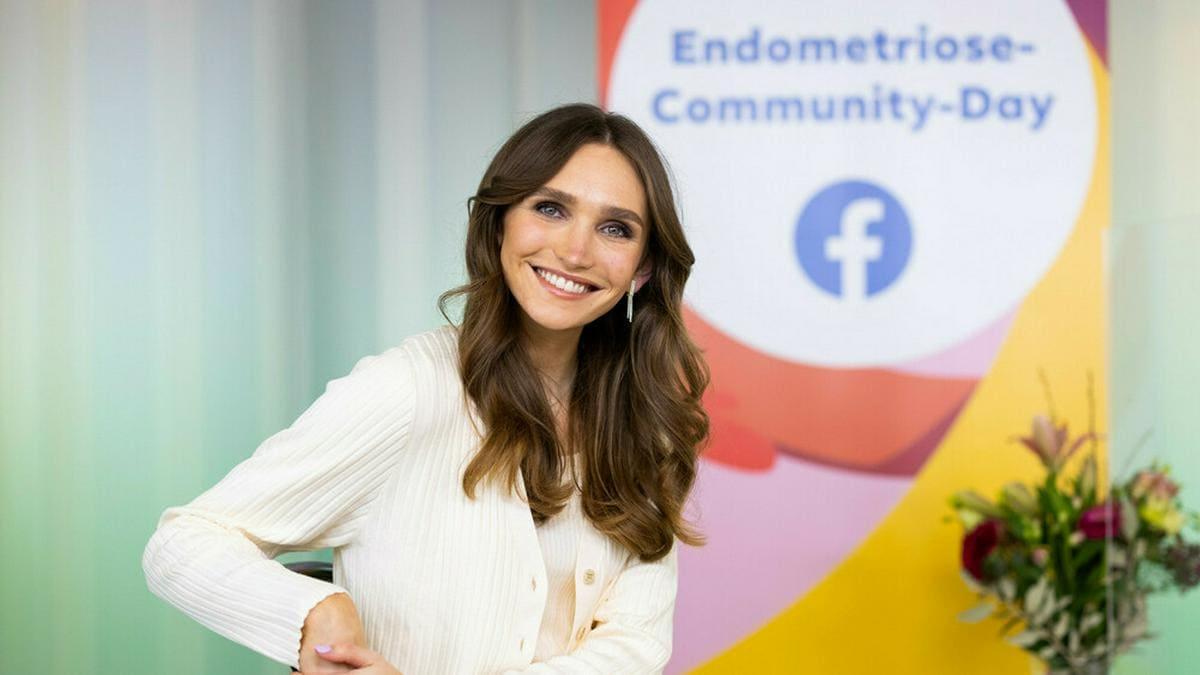 Anna Wilken lebt schon seit vielen Jahren mit Endometriose.. © Facebook