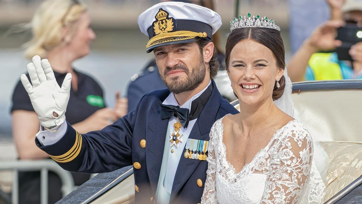 Prinz Carl Philip und Prinzessin Sofia von Schweden haben 2015 geheiratet und freuen sich zum dritten Mal über Nachwuchs.. © Stefan Holm/shutterstock.com