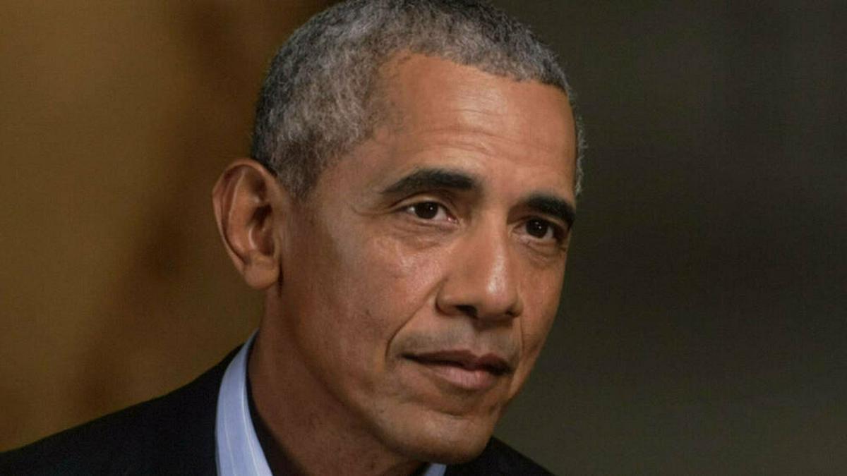 Barack Obama im vergangenen Jahr. © imago images/ZUMA Wire