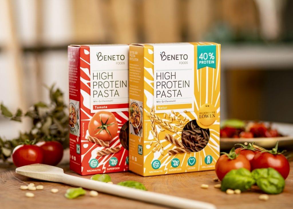beneto pasta aus grillen