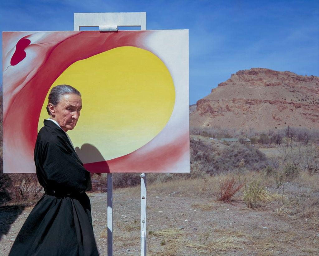 Georgie O'Keeffe Internationaler Frauentag