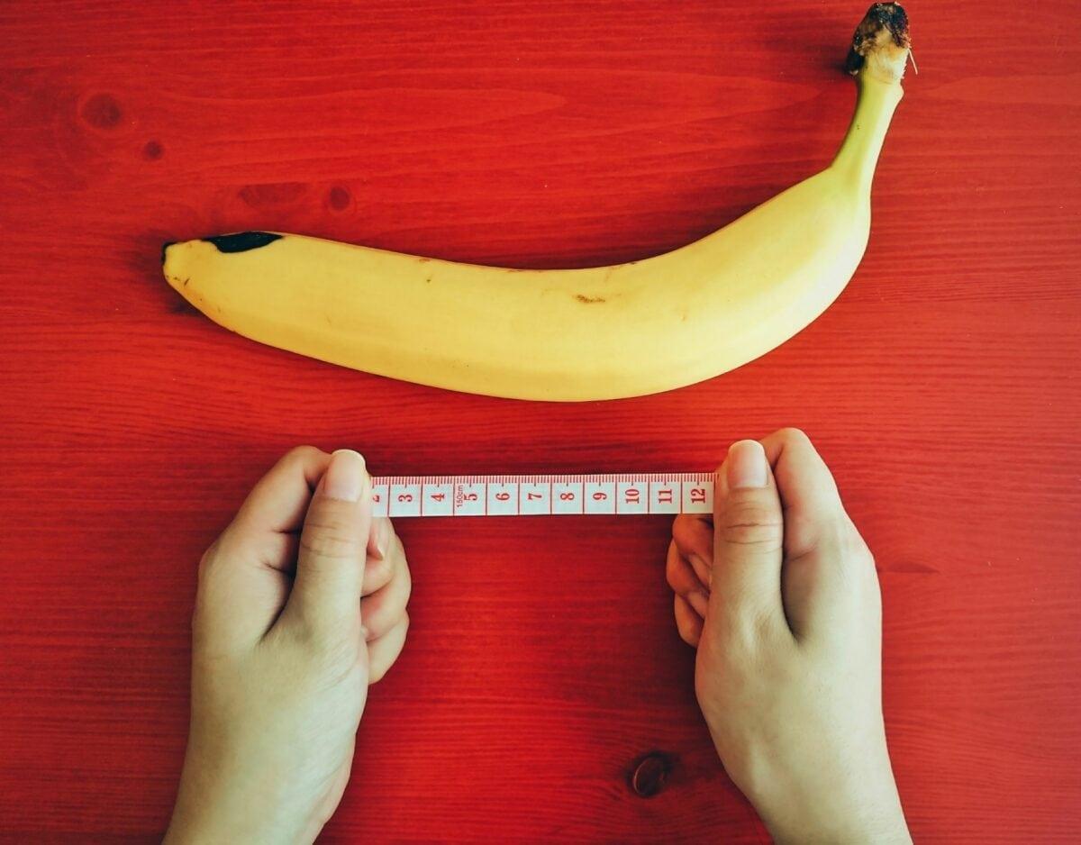 Banane messen