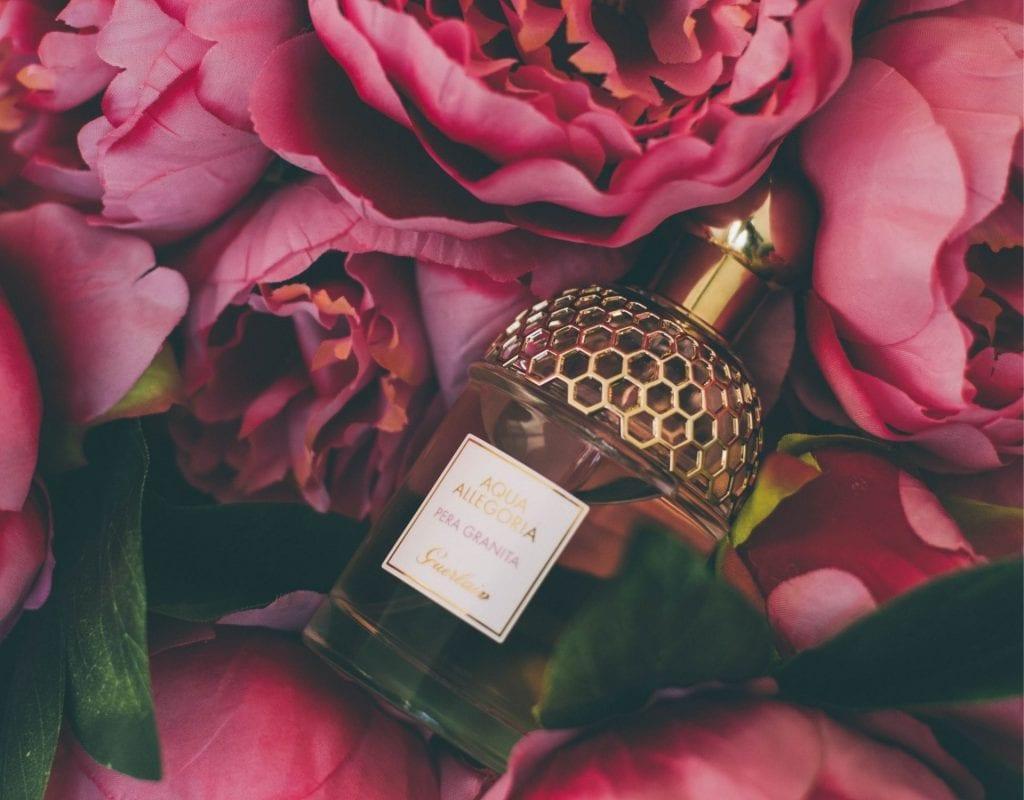 parfum in rosen