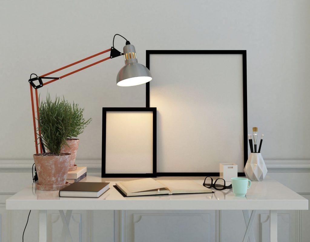 schreibtisch tisch lampe home office