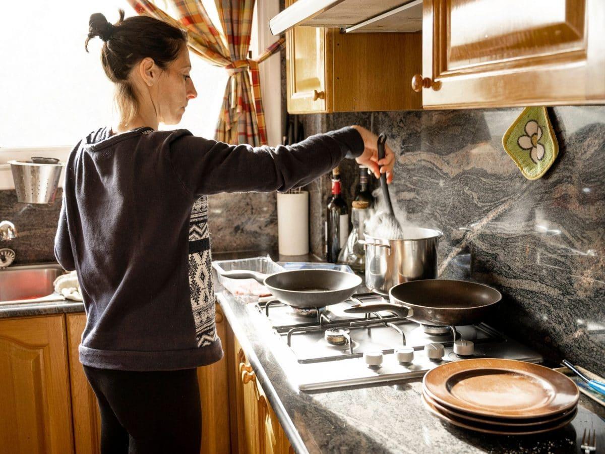 kochen salz frau wasser küche