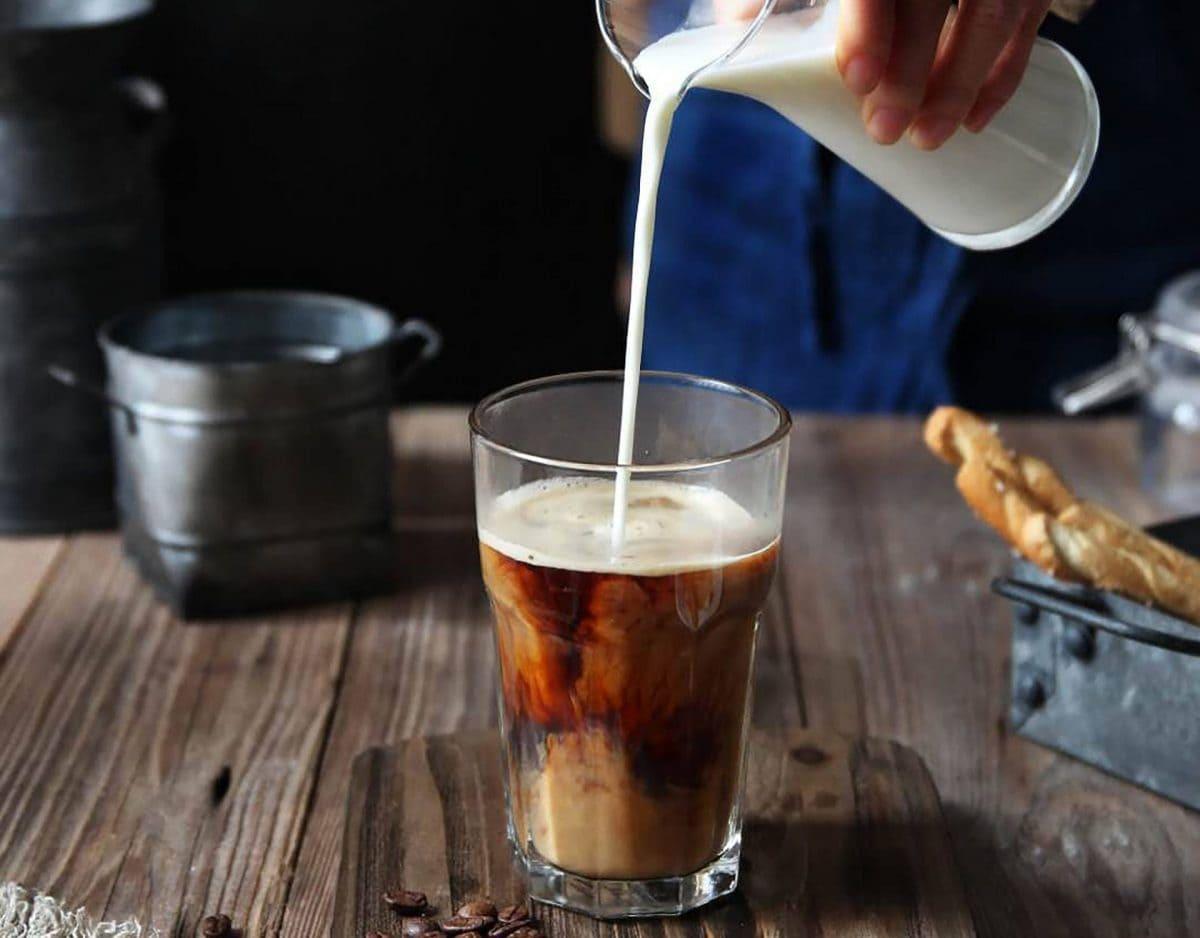 milch kaffe morgen cafe trinken