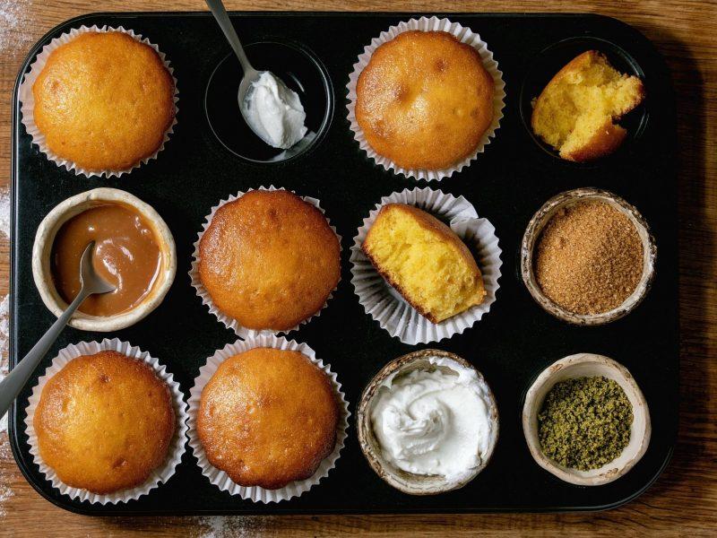 muffin kuchen backen zutaten rezept