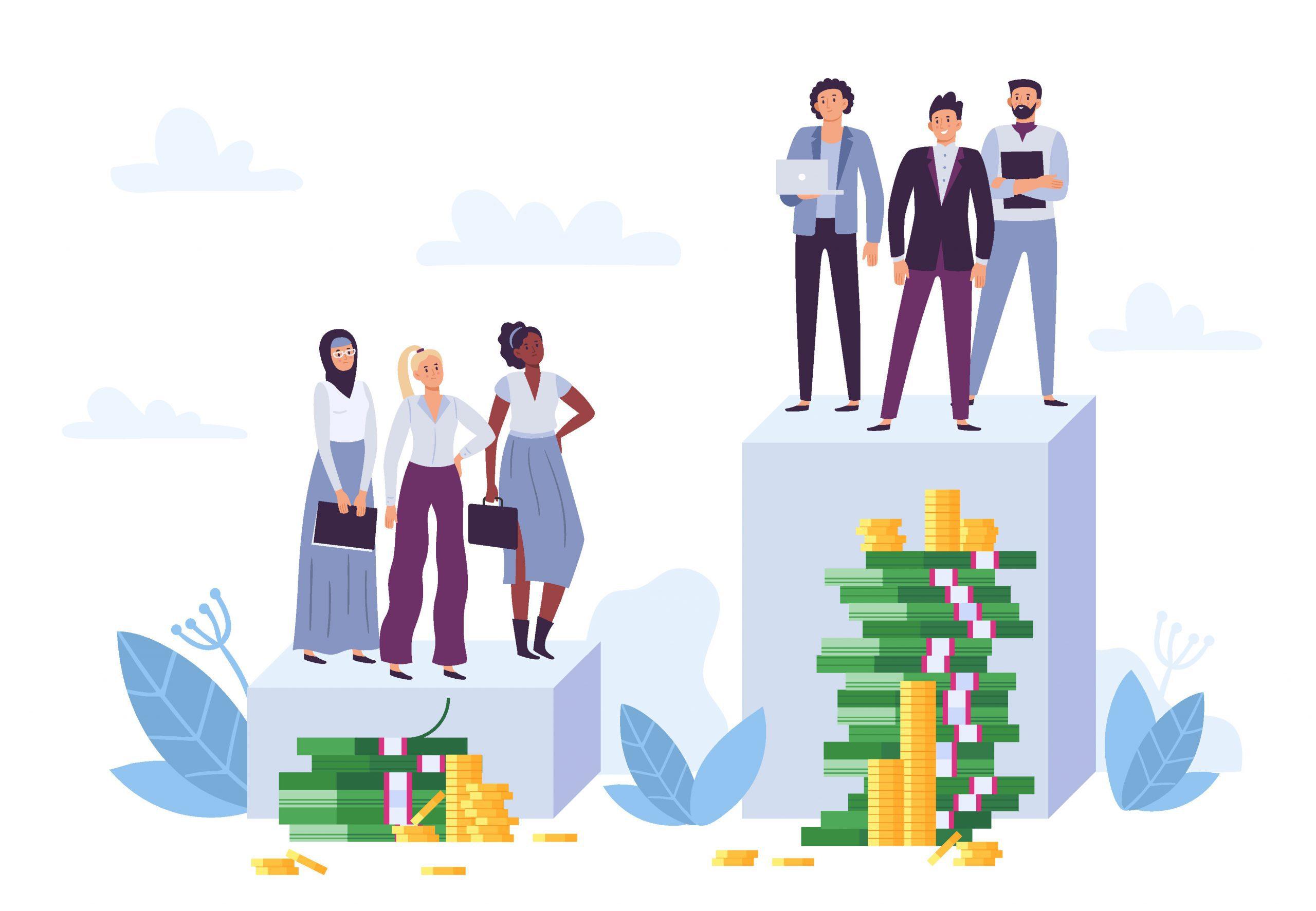 gender pay gap equal pay day diskriminierung ungleichheit