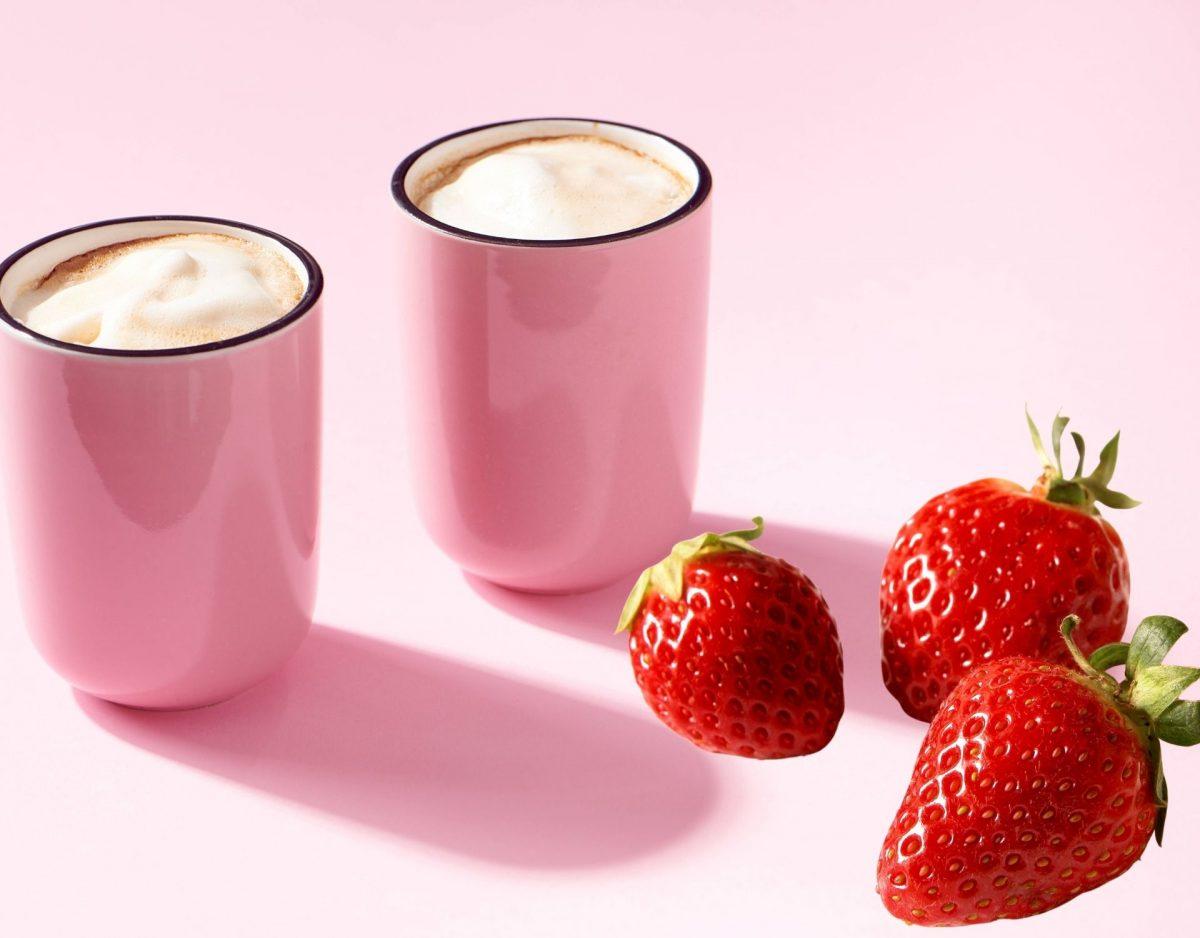 erdbeere kaffee