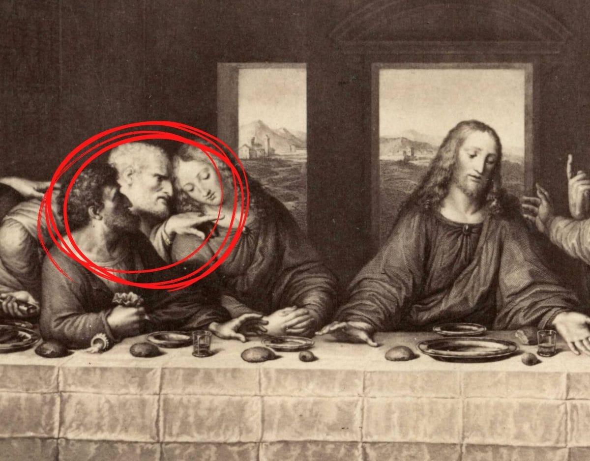 judas jesus ostern das letzte Abendmahl