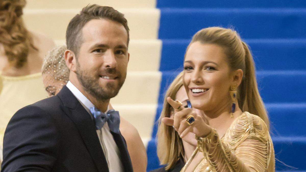 Ryan Reynolds und Blake Lively sind geimpft und machen sich deswegen übereinander lustig.. © Shutterstock.com / Ovidiu Hrubaru