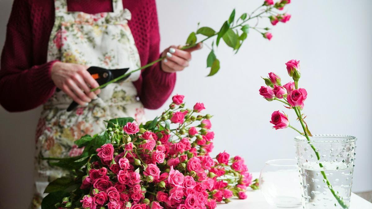 Schnittblumen halten oft nur wenige Tage.. © Lipa23 / Shutterstock.com