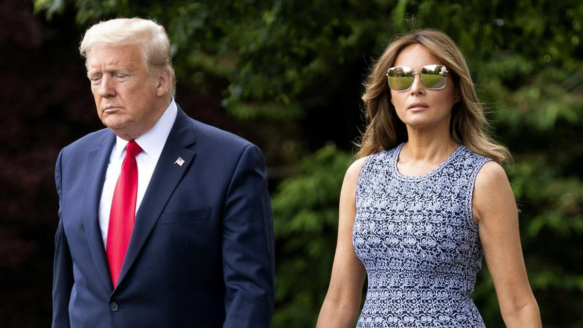 Donald und Melania Trump bei einem gemeinsamen Auftritt. © Kevin Dietsch/CNP/AdMedia/ImageCollect