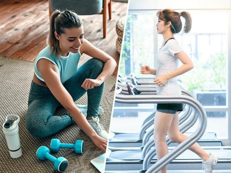Sowohl Homeworkouts als auch Fitnessstudios bringen ihre Vor- und Nachteile mit sich.. © [M] ORION PRODUCTION / jaboo2foto / Shutterstock.com