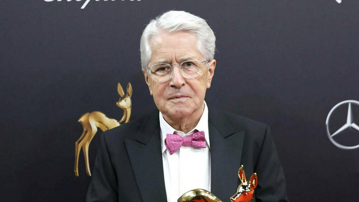 Frank Elstner bei der Bambi-Verleihung 2019. © imago images/Eventpress