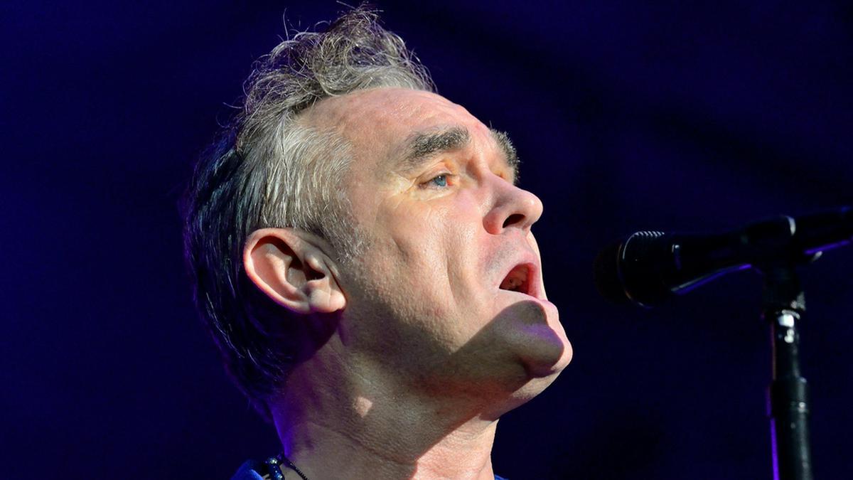 Morrissey bei einem Auftritt in Barcelona. © Christian Bertrand/Shutterstock.com