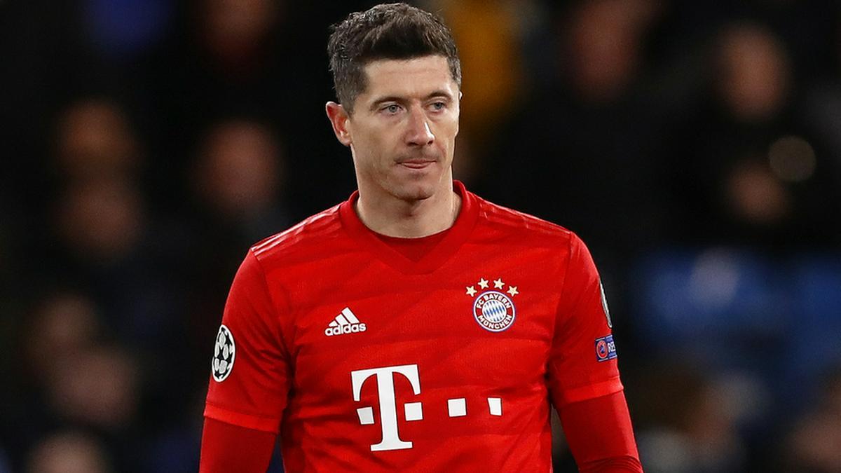 Robert Lewandowski bei einem Bayern-Spiel. © MDI/Shutterstock.com