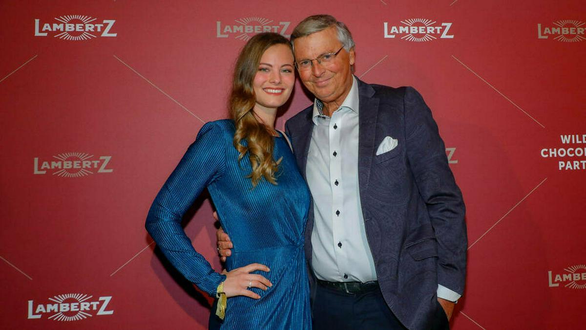 Wolfgang Bosbach mit seiner Tochter Viktoria Anfang 2020. © imago images/Agentur Baganz