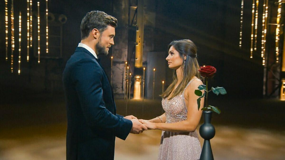 Niko Griesert hatte Michèle während der Show gleich zwei Mal eine Abfuhr erteilt. © TVNow