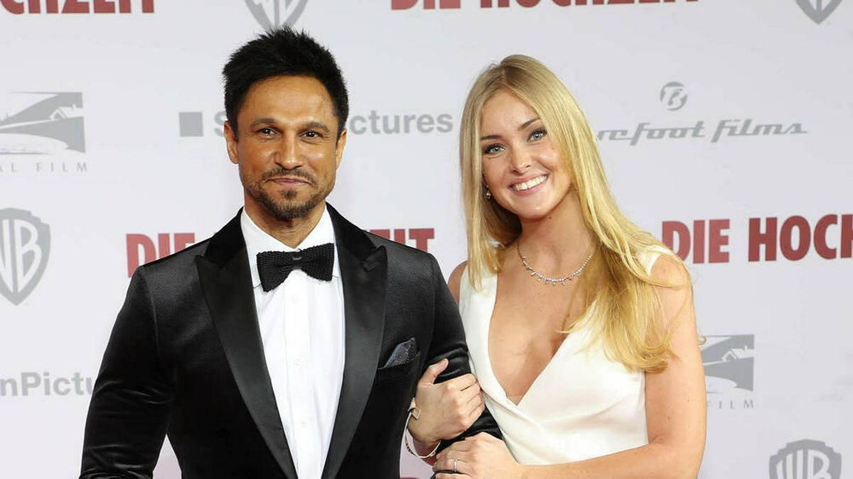Daniel Aminati und seine zukünftige Ehefrau Patrice. © imago images/Eventpress