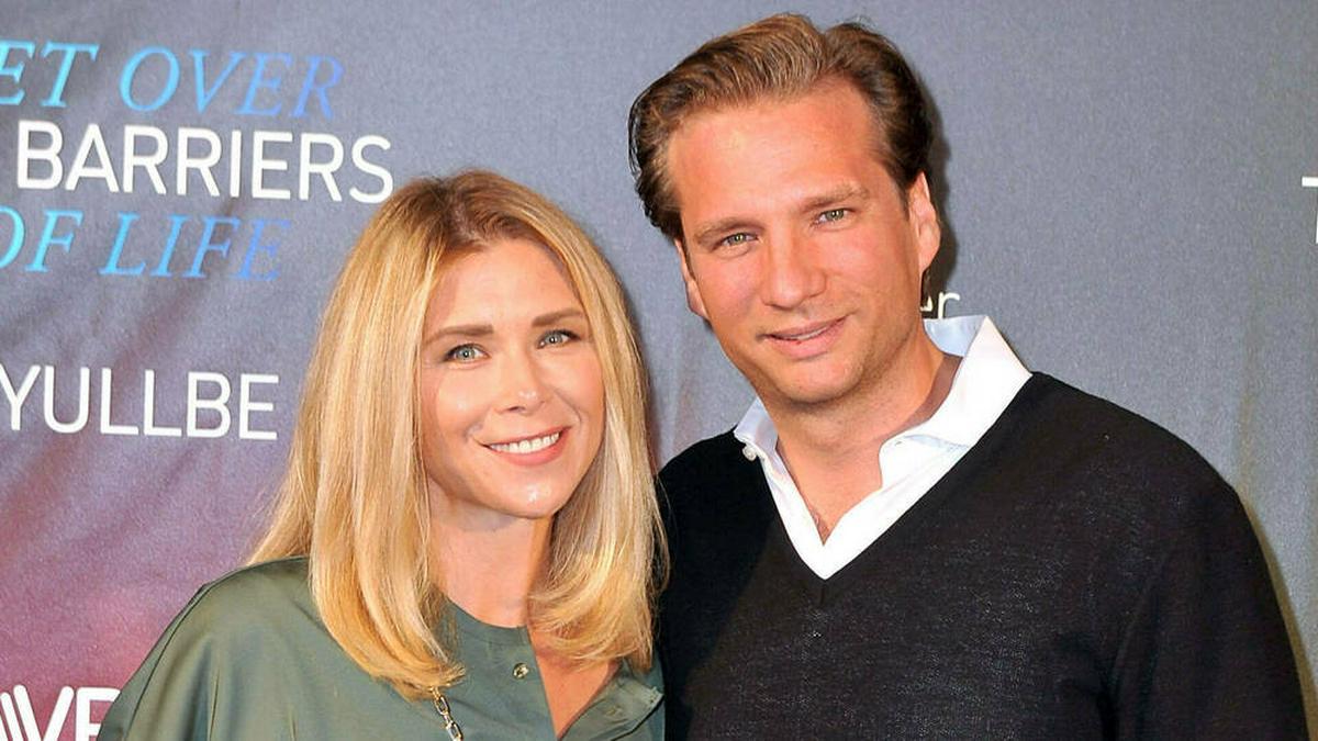 Tanja Szewczenko und Norman Jeschke haben jetzt drei gemeinsame Kinder.. © imago images/STAR-MEDIA