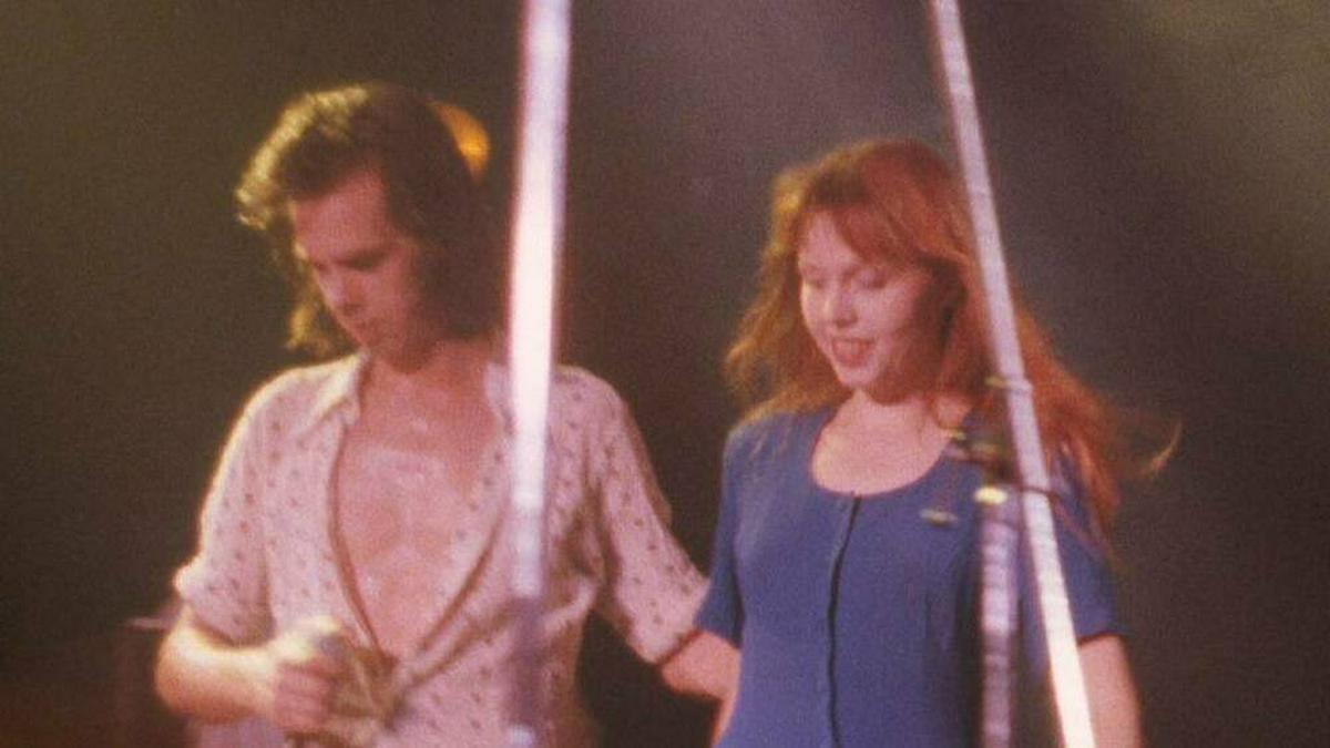 Nick Cave und Anita Lane waren zwischenzeitlich ein Liebespaar.. © IMAGO / Benedict PD