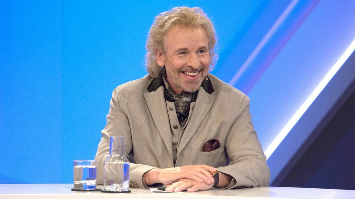 """Entertainer Thomas Gottschalk am Mittwochabend bei """"maischberger. die woche"""". © WDR/Melanie Grande"""