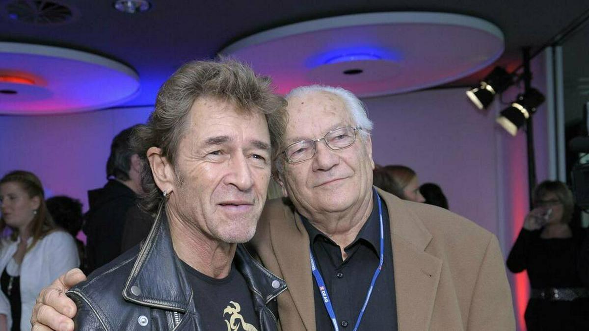 Peter Maffay mit seinem Vater Wilhelm Makkay im Jahr 2010.. © IMAGO / Stefan M Prager
