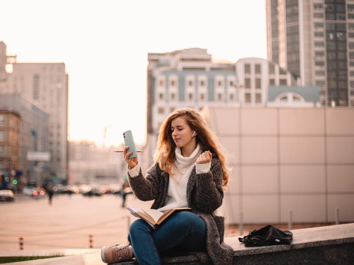 Sprachlern-Apps neue Sprache lernen Großstadt