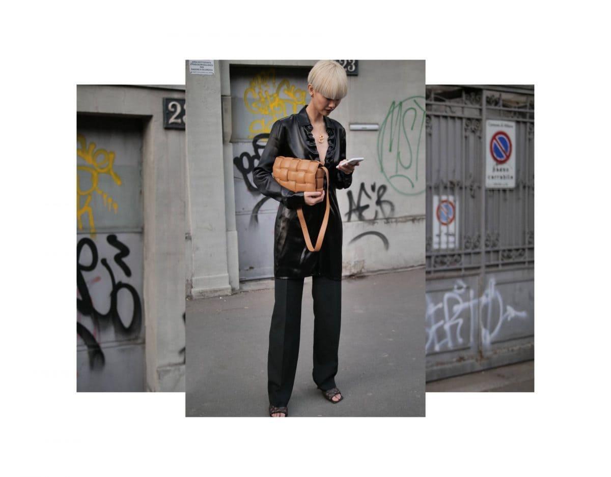 Style street frau asiatisch leder