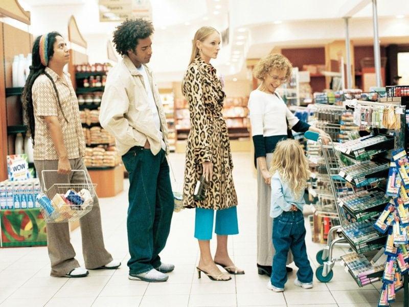 Supermarktkasse verkaufsstrategien