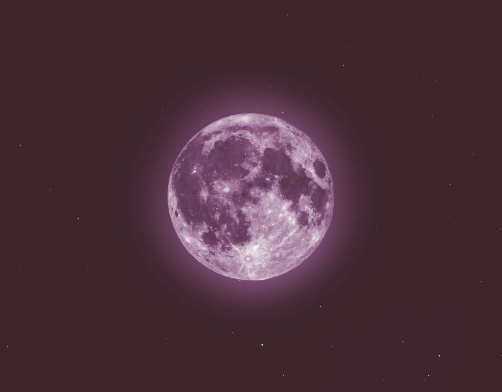 pink moon pinker mond