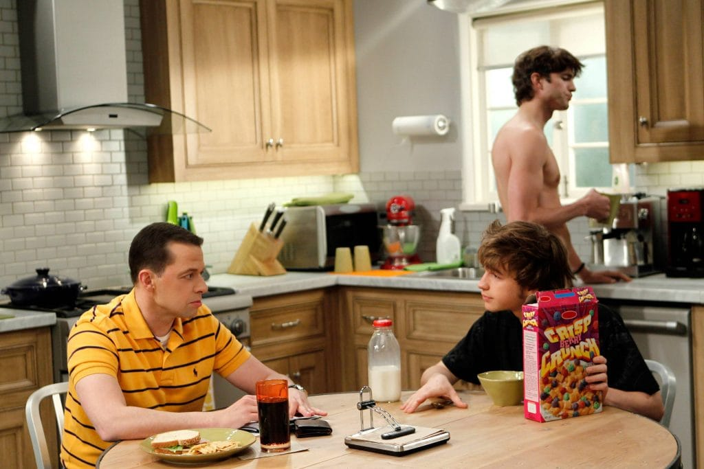 two and a half men serie