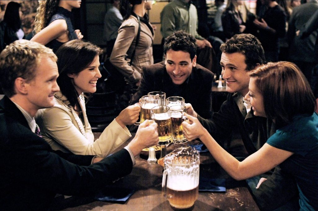 top sitcoms himym