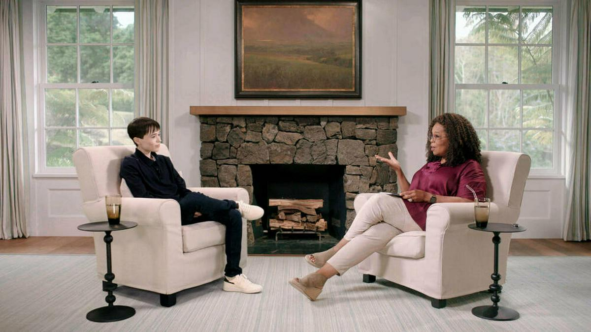 Elliot Page hat mit Oprah Winfrey über sein Coming-out gesprochen. © imago images/PA Images