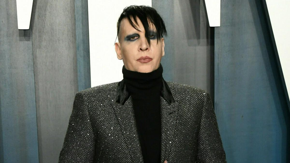 Marilyn Manson bei einer Veranstaltung im vergangenen Jahr. © Admedia / ImageCollect.com