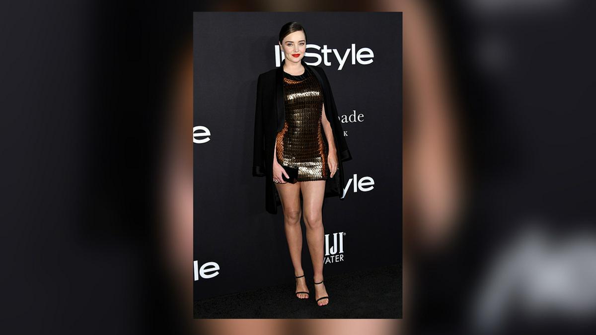 Miranda Kerr weiß wie man der Cellulite Herr wird.. © Birdie Thompson/AdMedia/ImageCollect