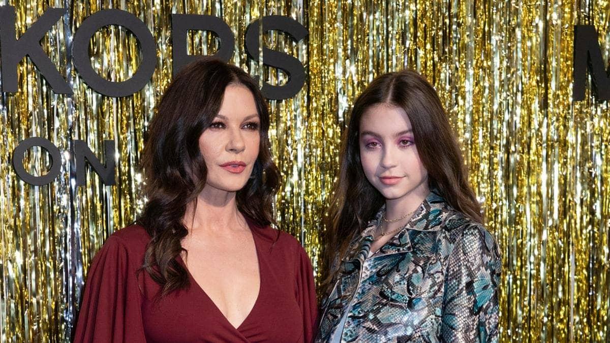 Catherine Zeta-Jones und ihre Tochter Carys bei der New York Fashion Week 2019.. © Sam Aronov/shutterstock.com