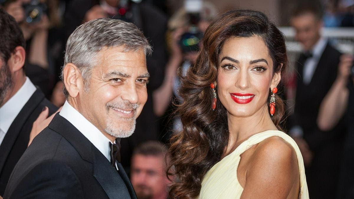 George Clooney an der Seite seiner zweiten Ehefrau Amal. © taniavolobueva/Shutterstock.com
