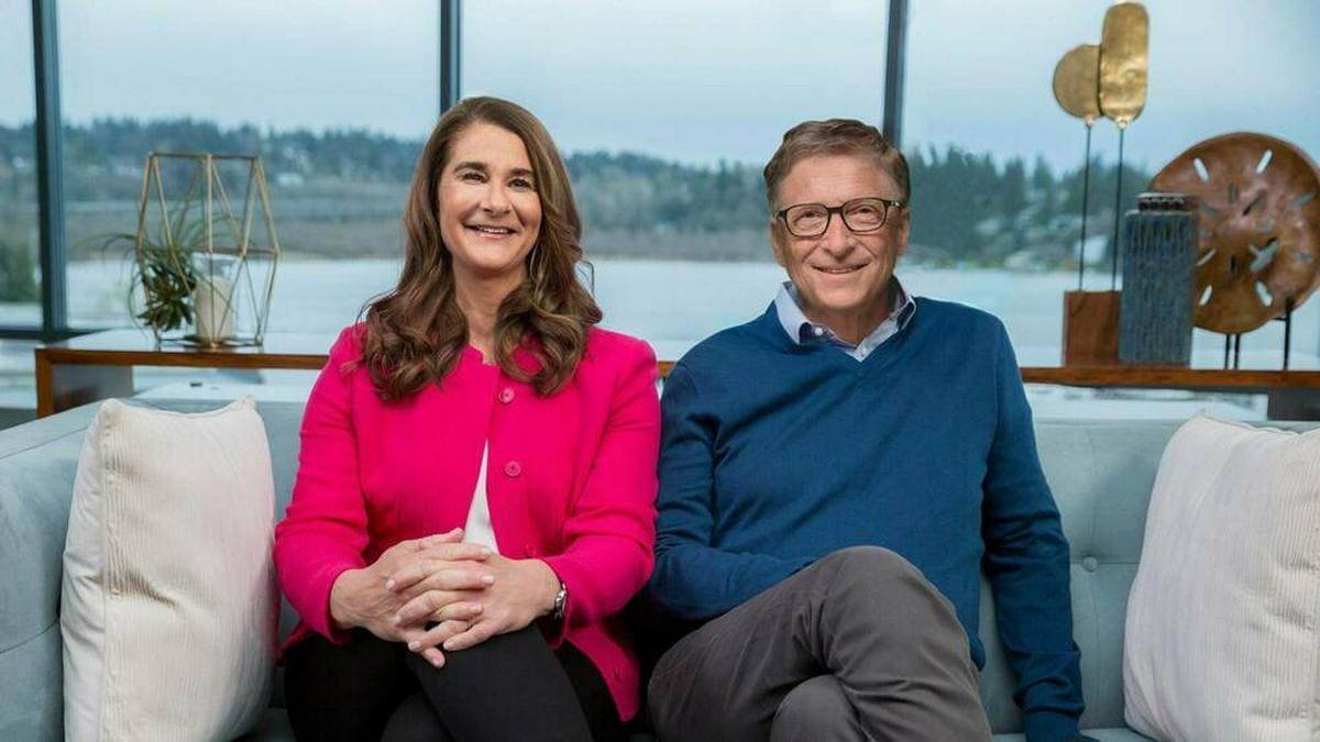 Melinda und Bill Gates lassen sich scheiden.. © imago images/Xinhua