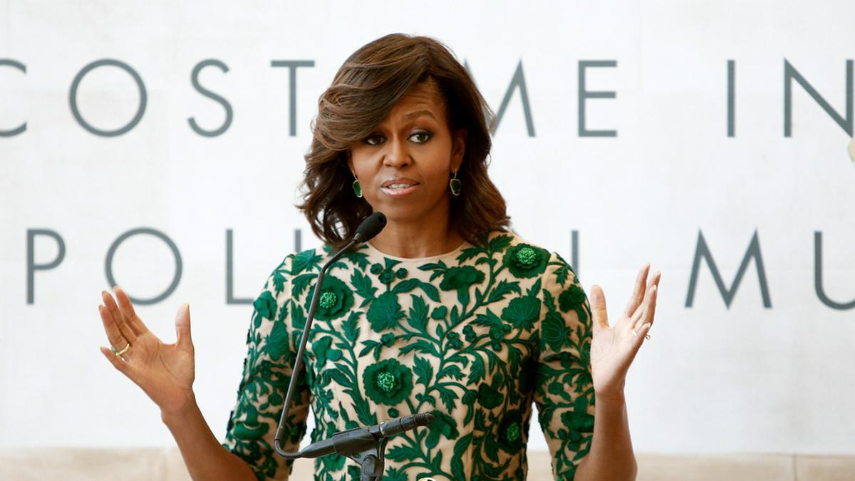 Michelle Obama sorgt sich um ihre Töchter Malia und Sasha.. © Debby Wong / Shutterstock.com