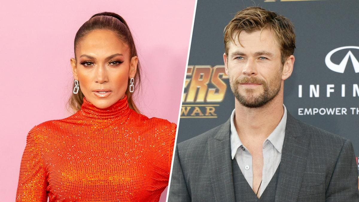 Jennifer Lopez (l.) und Chris Hemsworth setzten zum Muttertag Social-Media-Posts ab.. © [M] Ovidiu Hrubaru / Shutterstock.com / Tinseltown