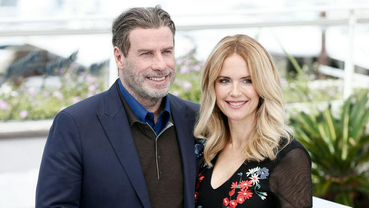 John Travolta und Kelly Preston bei den 71. Filmfestspielen von Cannes in Frankreich