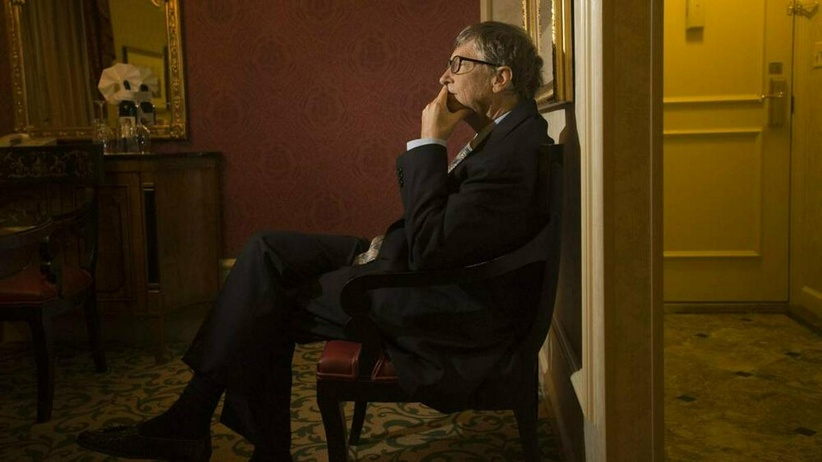 Bill Gates im Jahr 2013