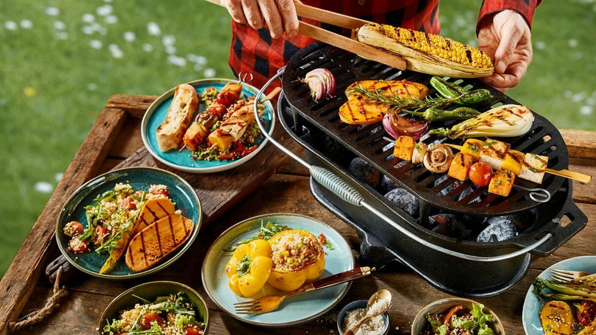 Vegetarier müssen beim Grillen nicht zwingend zu kurz kommen.. © stockcreations / Shutterstock.com