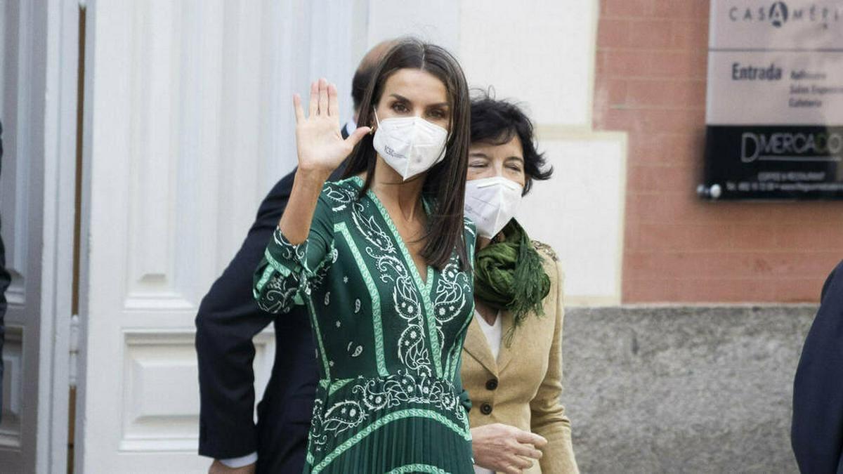 Königin Letizia von Spanien in Madrid. © imago images/NurPhoto