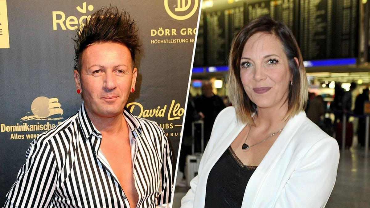 Ennesto Monté (l.) und Danni Büchner führten sechs Monate eine On-Off-Beziehung.. © [M] imago images/STAR-MEDIA