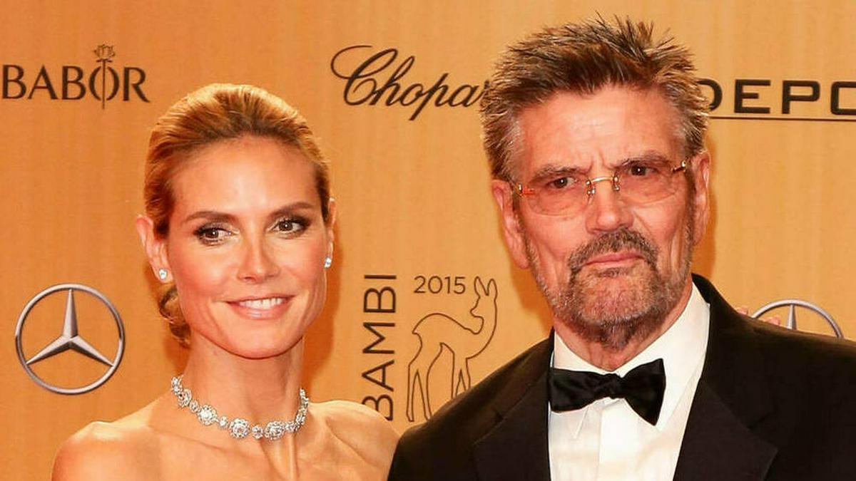 Zwischen Heidi und Günther Klum passte früher kein Blatt.. © imago images/Coldrey
